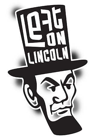 Left on Lincoln band logo