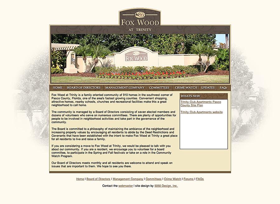 Trinity, FL web site